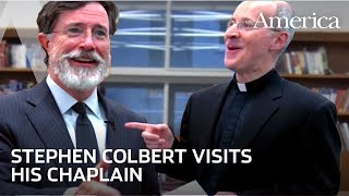 Stephen Colbert on the Catholic Religion