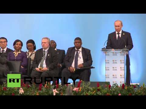 Brazil: Putin takes to the stage at BRICS summit