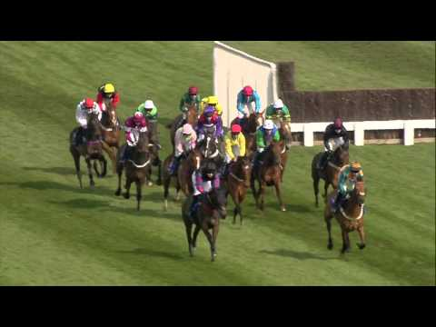 Vidéo de la course PMU THE BARING BINGHAM NOVICES' HURDLE RACE