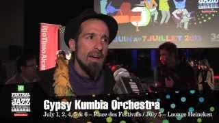 Gypsy Kumbia Orchestra – 2013 Festival – Upcoming concerts