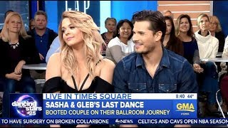 Sasha & Gleb - DWTS 25 Exit Interview - GMA