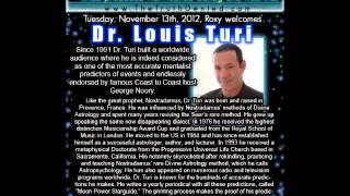 Dr. Louis Turi : Predictions For November & December 2012