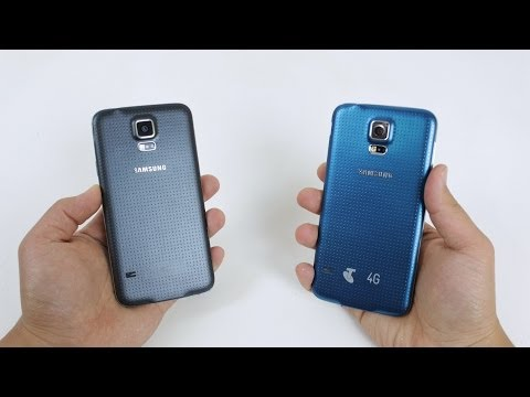 Electric Blue Samsung Galaxy S5 Unboxing