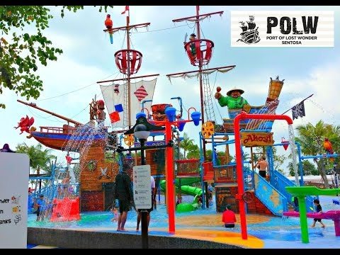 kids games @ SENTOSA Port of Lost Wonder