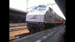 Kereta Api Gaya Baru Malam Selatan Berangkat PSE