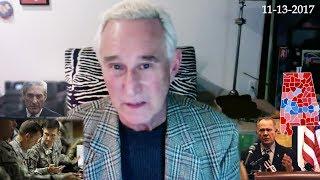 Roger Stone, Discusses Roy Moore, Menendez trail, Gen Flynn, Current Events  November 13th, 2017