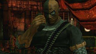 Batman Arkham City Lockdown Deathstroke Boss Fight