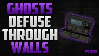 Call Of Duty Ghosts: Ninja Defuse Spots & How To Defuse