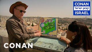 Conan Visits Jerusalem & Outlines Trump's Peace Plan  - CONAN on TBS