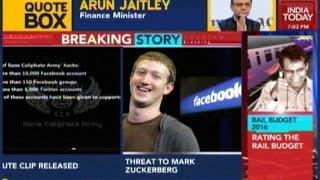 ISIS threat to Facebook founder Mark Zuckerberg
