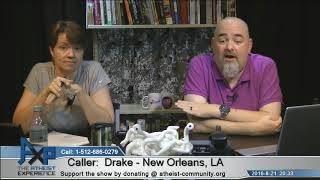 Speaking in Tounges | Drake - New Orleans, LA | Atheist Experience 20.33