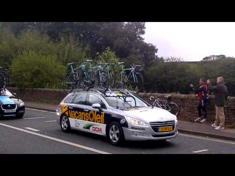 Tour of Britain 2012: Macclesfield Canal Swing Bridge (Fools Nook) Part 2