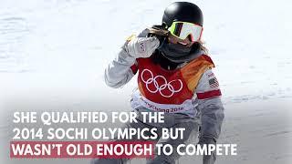 American snowboard sensation Chloe Kim wins gold in women's halfpipe at debut Olympics