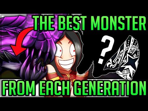 The 5 Best Monsters in Monster Hunter History - Monster Hunter World Iceborne! (Discussion/Fun) #mhw