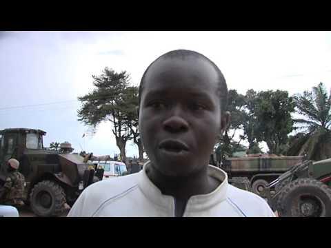 Protestors Soundbite- Central African Republic