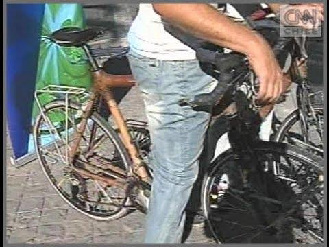 Holandeses recorren América en bicicletas de Bambú
