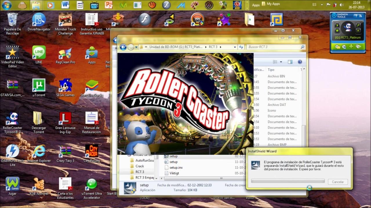 Descargar roller coaster tycoon 3 platinum iso torrent youtube