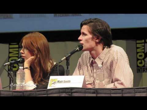 DOCTOR WHO Matt Smith San Diego Comic Con 2011 2 of 5