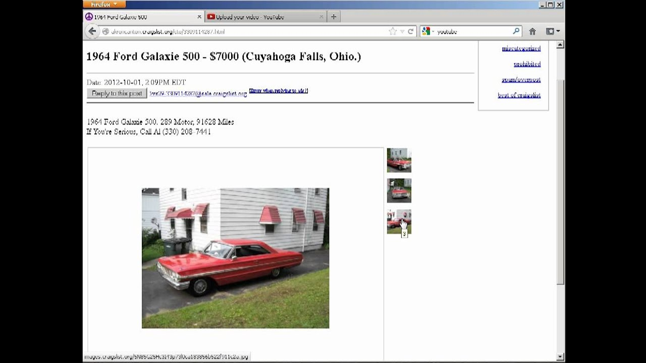 Best Of Akron/Canton Craigslist 1964 Ford Galaxie 500 (10 ...