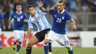 14 agosto 2013 - Italia-Argentina per Papa Francesco - Almanacchi Azzurri