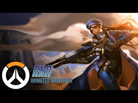 Ana Animated Wallpaper Timelapse Overwatch