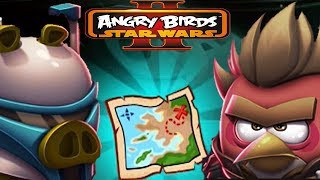 Angry Birds Star Wars 2 RISE OF THE CLONES Treasure Map