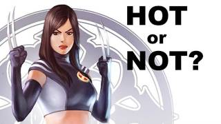 Marvel X-23 Hot or Not?, Venom Event 2012, Batwoman and DC's Top Selling Femme Fatales