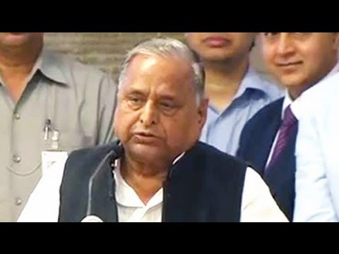 Chief Minister, step up: Mulayam Singh Yadav to son Akhilesh Yadav