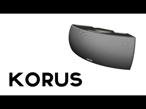 Korus: Premium Wireless Home Speakers
