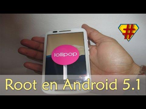 Moto E Como ser Root en Android 5.1 Stock Fácil 2016