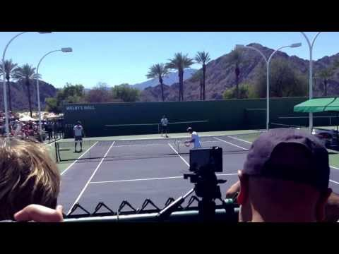 Federer Edberg Indian Wells 2014