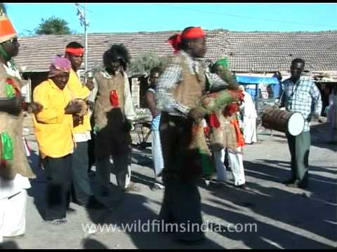 African moves by Siddhi tribe