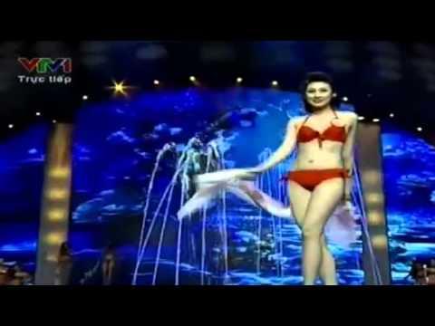 [Chung kết Hoa hậu Việt Nam 2012] Vòng thi áo tắm (bikini)