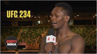 Israel Adesanya: 'I'm too smart' for Anderson Silva's 'games'   UFC 234   ESPN MMA