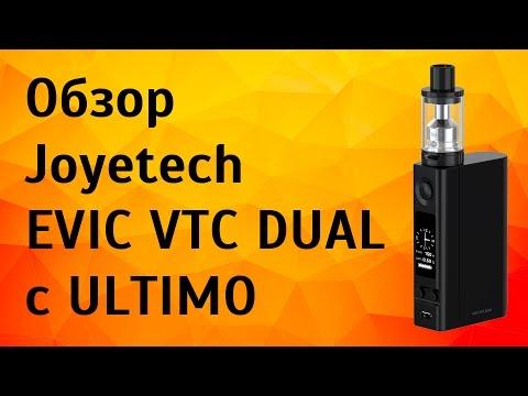 Видео обзор Joyetech Evic VTC Dual c ULTIMO | Мод трансформер...