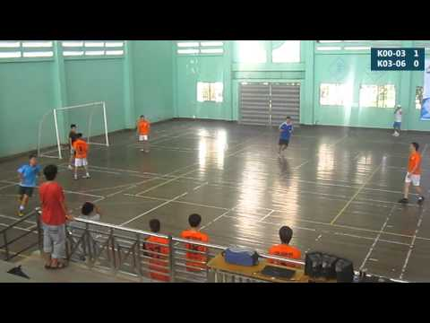 [Trận 19 - Giải bóng đá CHS LQĐ 2014] Trang giải Ba: K00-03 vs K03-06