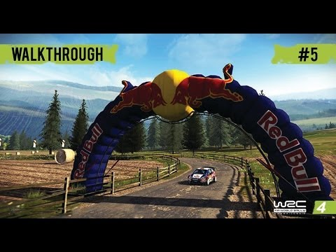 WRC 4 Career Mode Gameplay Walkthrough - Part 5 Rally Spain Day 2