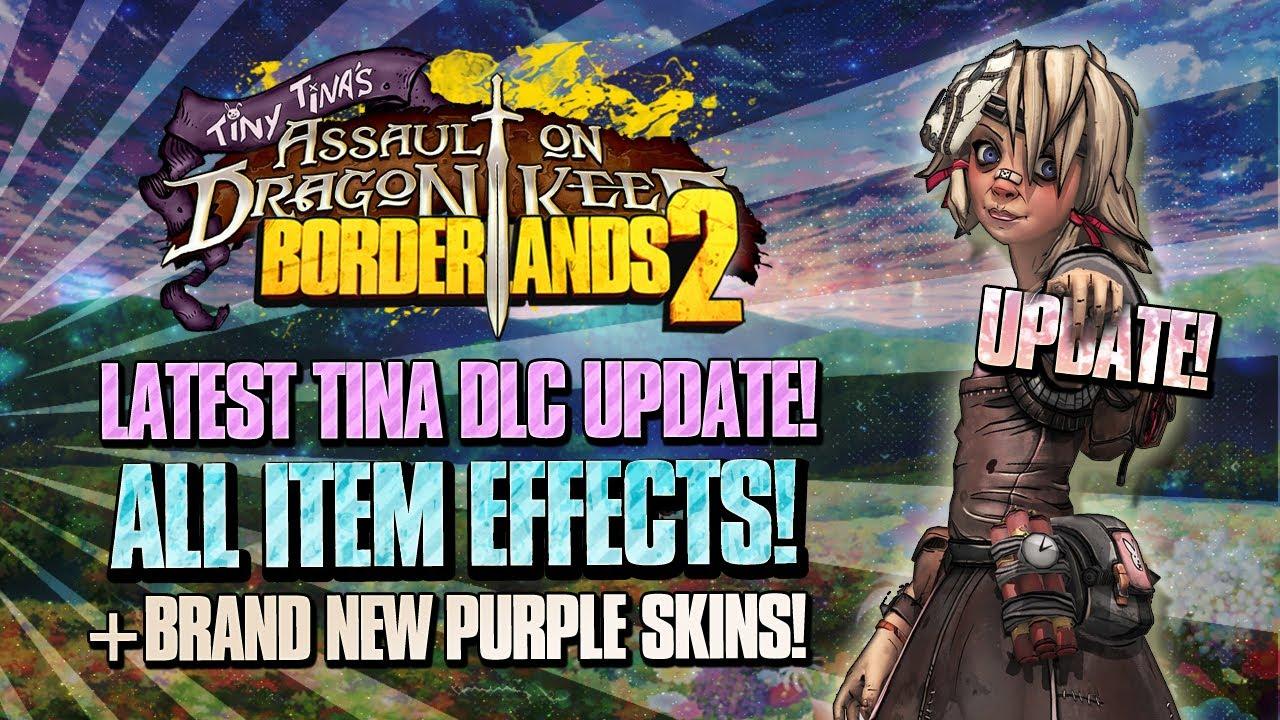 Borderlands 2: ALL Tina DLC Red Flavor Text Explained w ... Borderlands 2 Scaling Dlc Uvhm