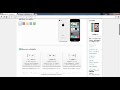 iPhone 5C de 8GB en México Y El Precio $$$$