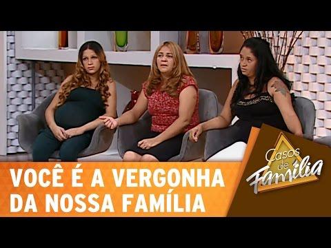 Casos de Família (09/01/15) - Você é a vergonha da nossa família! - Completo