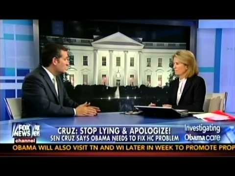 Sen. Ted Cruz with Greta Van Susteren on the State of the Union