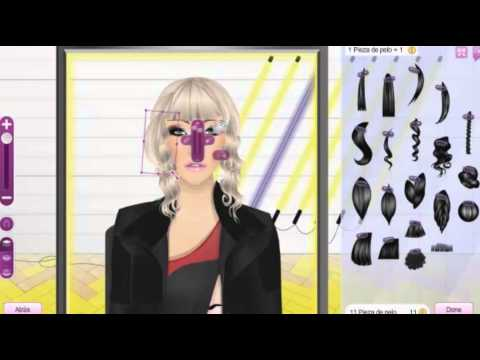 Tutorial Stardesign Hair Stardoll