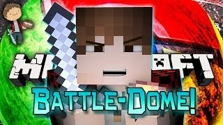 Minecraft: BATTLE-CHROME-DOME w/Mitch & Friends Part 1 - 3vs3vs3