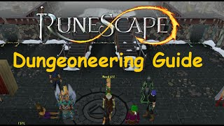 Runescape Training Guide: 1-99 Dungeoneering Guide [Legacy