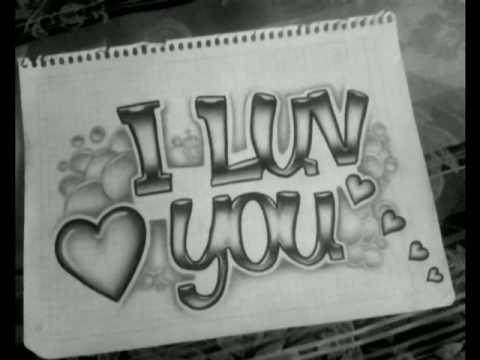 Dibujos de te amo graffitis , Imagui