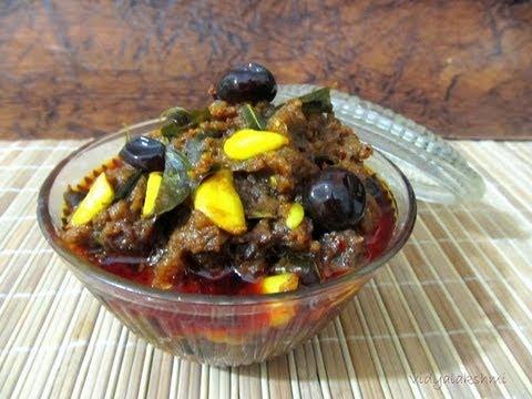 Mangai Karuvadu Thokku recipe
