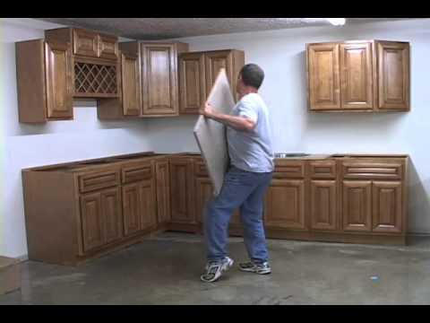 Modular Granite Installation Youtube