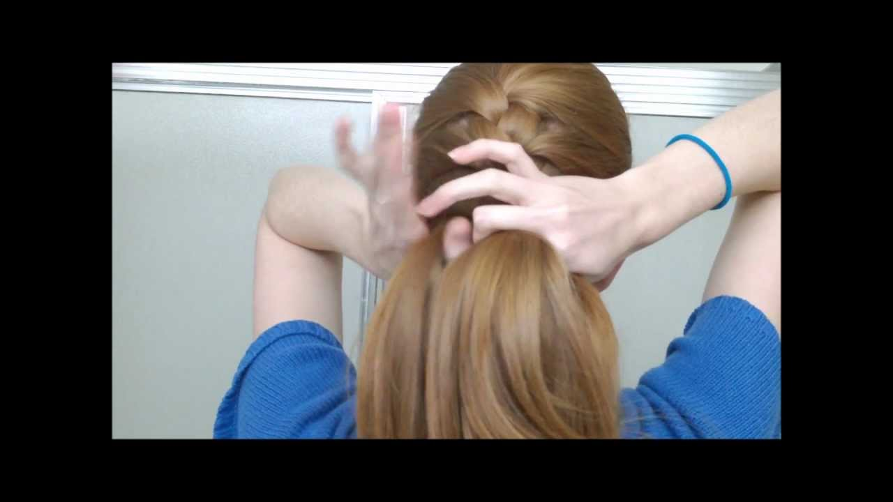 How To French Braid Your Own Hair In One Part Youtube