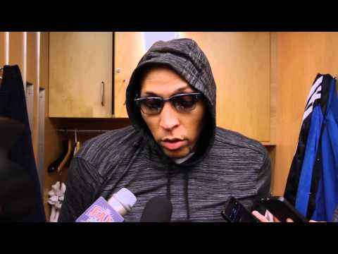 DALLAS MAVERICKS: SHAWN MARION POSTGAME COMMENTS vs TORONTO RAPTORS