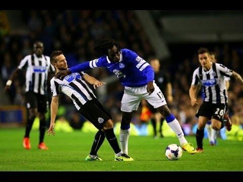 Romelu Lukaku | Skills And Goals | Everton 2014 |